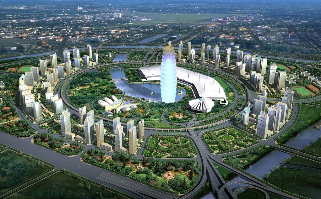 郑东新区规划图